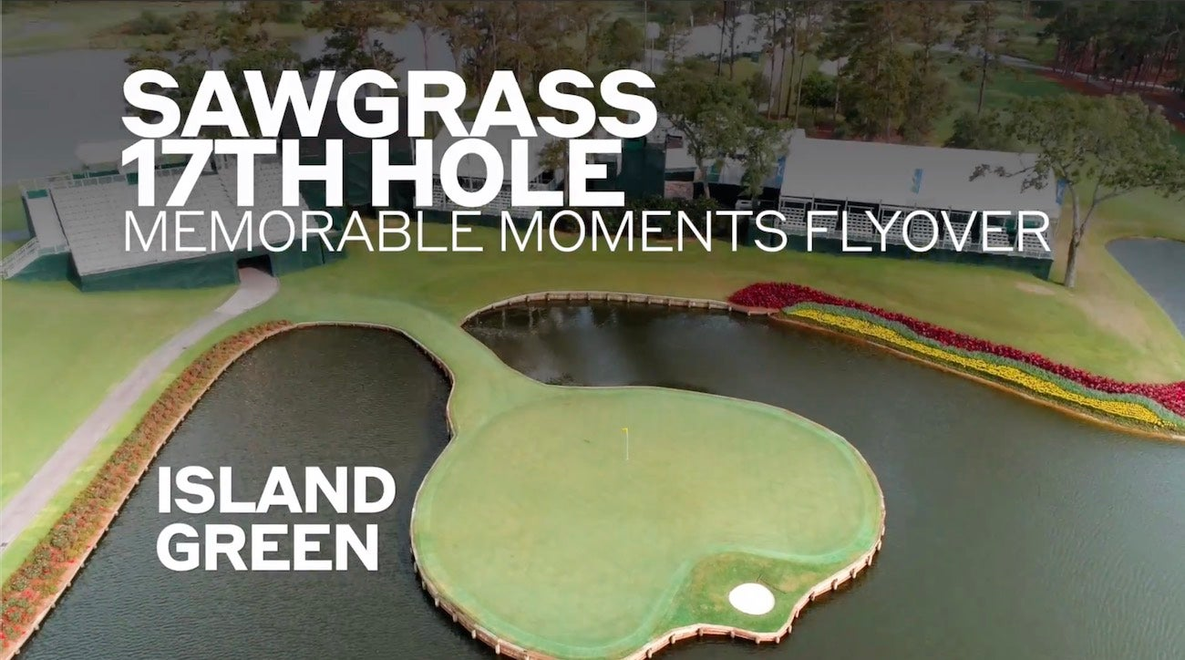 tpc sawgrass 17th hole memorable moments flyover