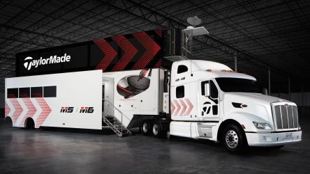 New TaylorMade Tour Truck