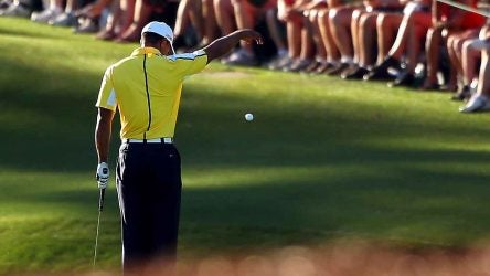 Tiger Woods, 2013 Masters