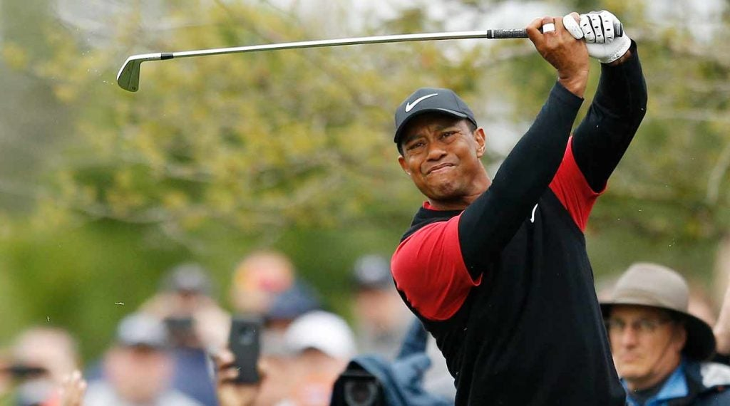 Tiger Woods had an interesting challenge when it came to being fitted for his new TaylorMade irons.