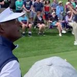 Vijay Singh's caddie wins cash prize, parking spot for closest to pin at No. 17