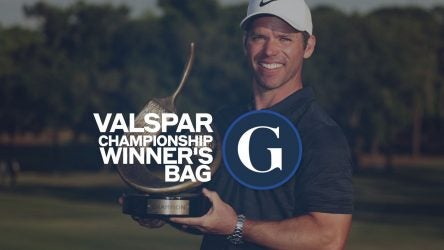 Picture of Paul Casey with trophy