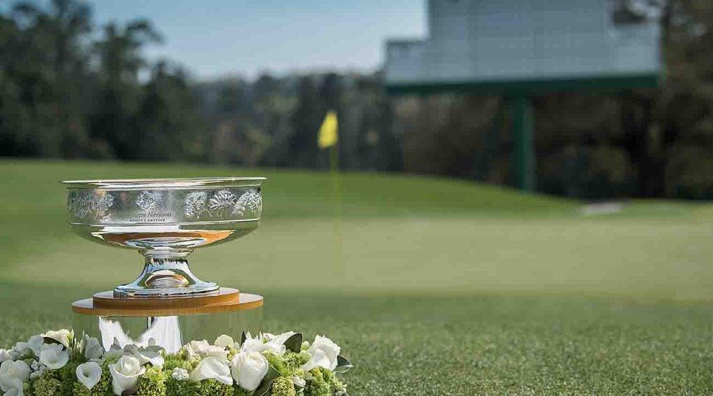 The Augusta National Women's Amateur trophy.