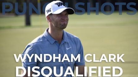 pga tour player disqualified