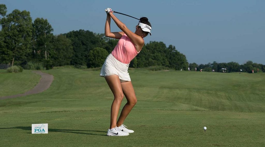 Pano was the talk of the tournament in her second Symetra tour start of her career.