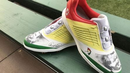 Arnold Palmer's grandson will wear these custom golf shoes at Bay Hill