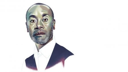 Don Cheadle illustration