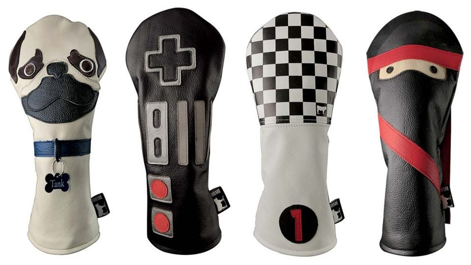 Golf accessories we loved this month include Dormie headcovers
