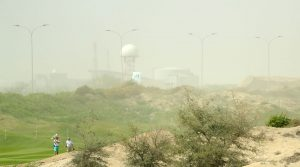 Worst golf weather? Sandstorm suspends Oman Open