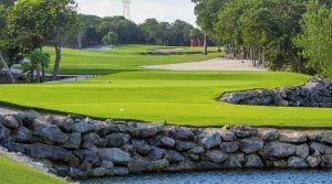 El Camaleon is home to the Mayakoba Golf Classic every year.