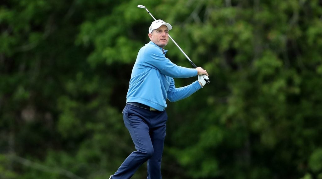 Jim Furyk finished second to Rory McIlroy at the 2019 Players Championship.
