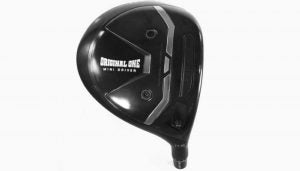 TaylorMade's Original One Mini Driver hit the USGA's conforming list.