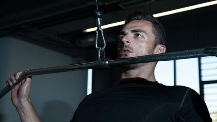 Lat pulldowns are one of the most popular exercises among Tour pros.
