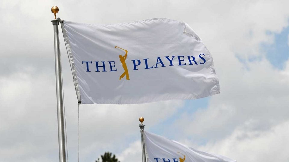 The Players Championship flag.
