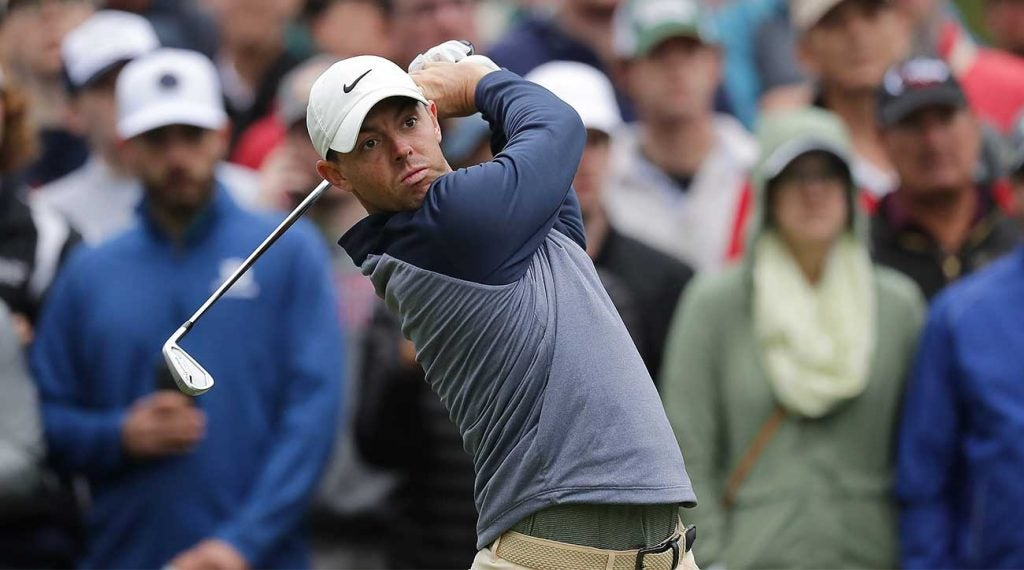 Rory McIlroy finished in a big way to claim the Players Championship on Sunday.