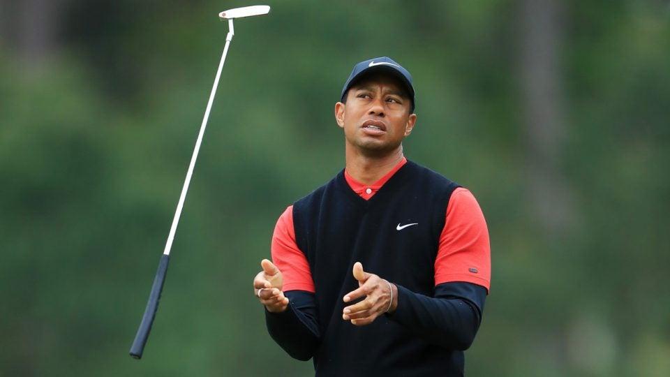 Tiger Woods world ranking