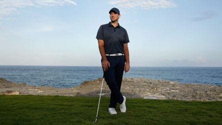 Tony Romo made his PGA Tour debut at the 2018 Corales Puntacana Resort & Club Championship