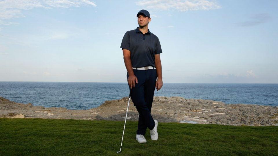 Tony Romo made his PGA Tour debut at the 2018 Corales Puntacana Resort & Club Championship