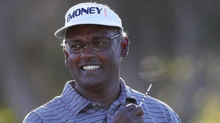 Vijay Singh at the 2019 Honda Classic.