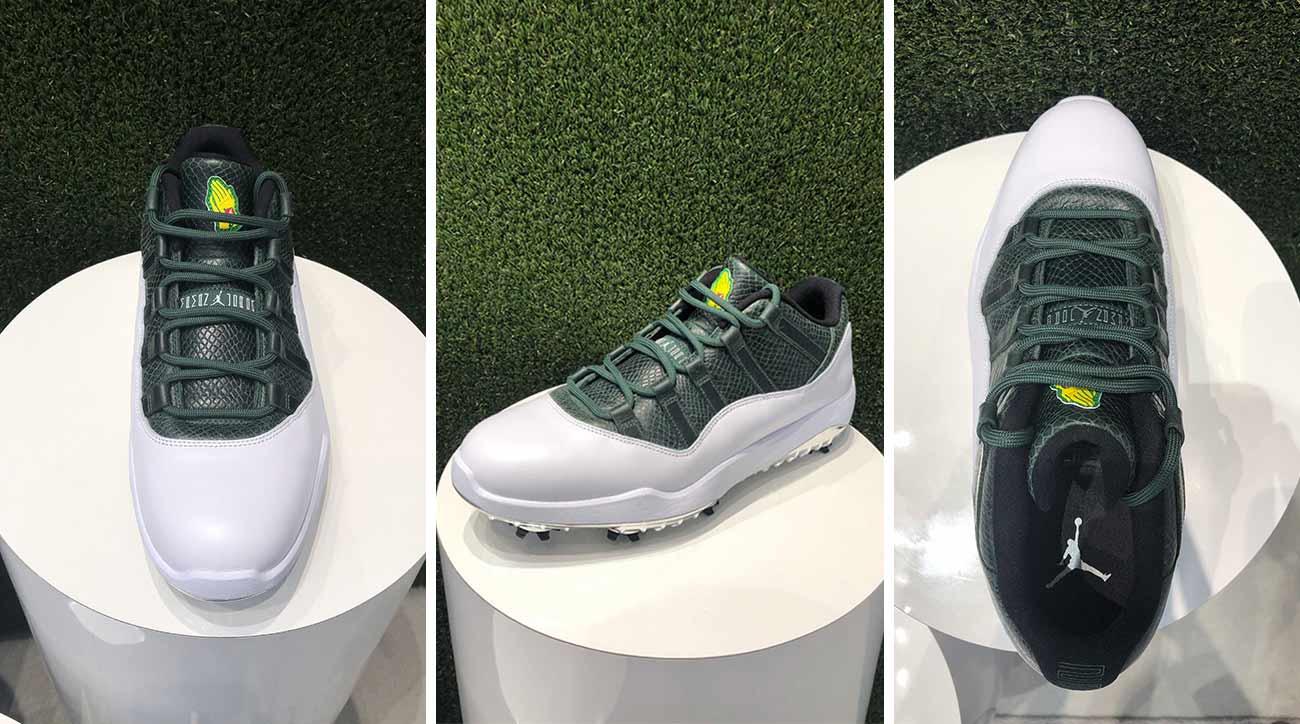 New Jordan XI golf shoe pays homage to