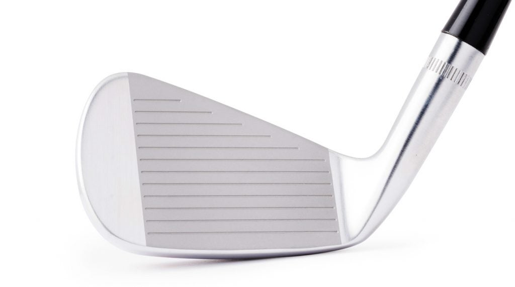 The face of the new Ben Hogan PTx PRO forged iron.