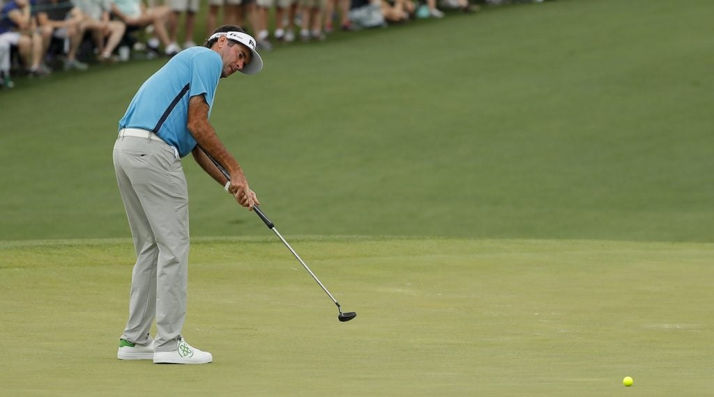 Bubba Watson switched to a milled Ping PLD Arna putter.
