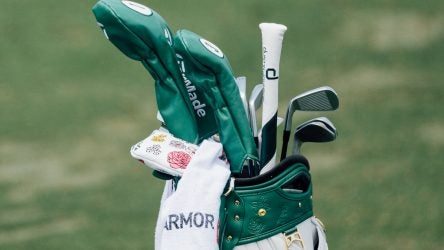 Dustin Johnson's gear at the 2019 Masters.