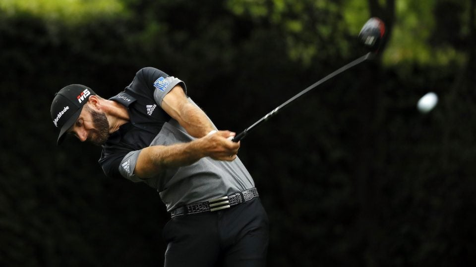 Dustin Johnson used TaylorMade's M6 driver during the final round of the Masters.
