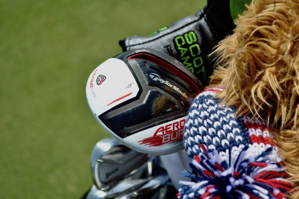 J.B. Holmes may be the only player on tour still using TaylorMade's Aeroburner Mini Driver.