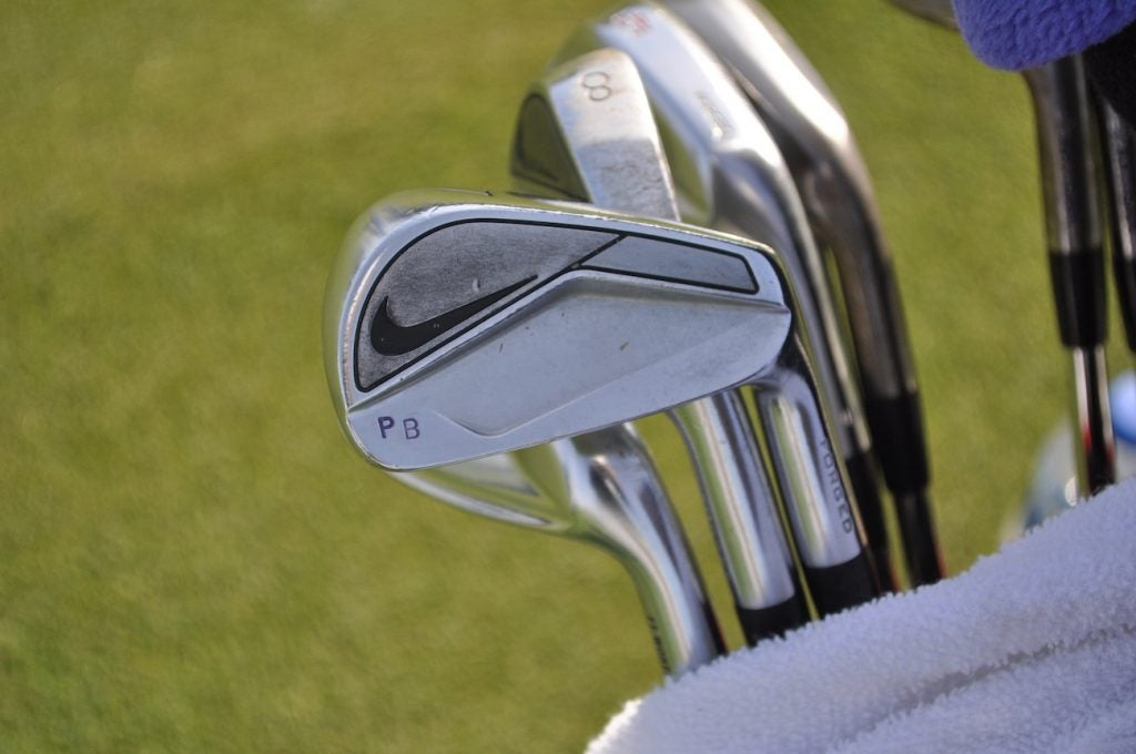 Paul Barjon qualified for the Valero Texas Open with a set of Nike Vapor Fly Pro irons.