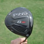 Ping's G410 LST driver from the sole position.
