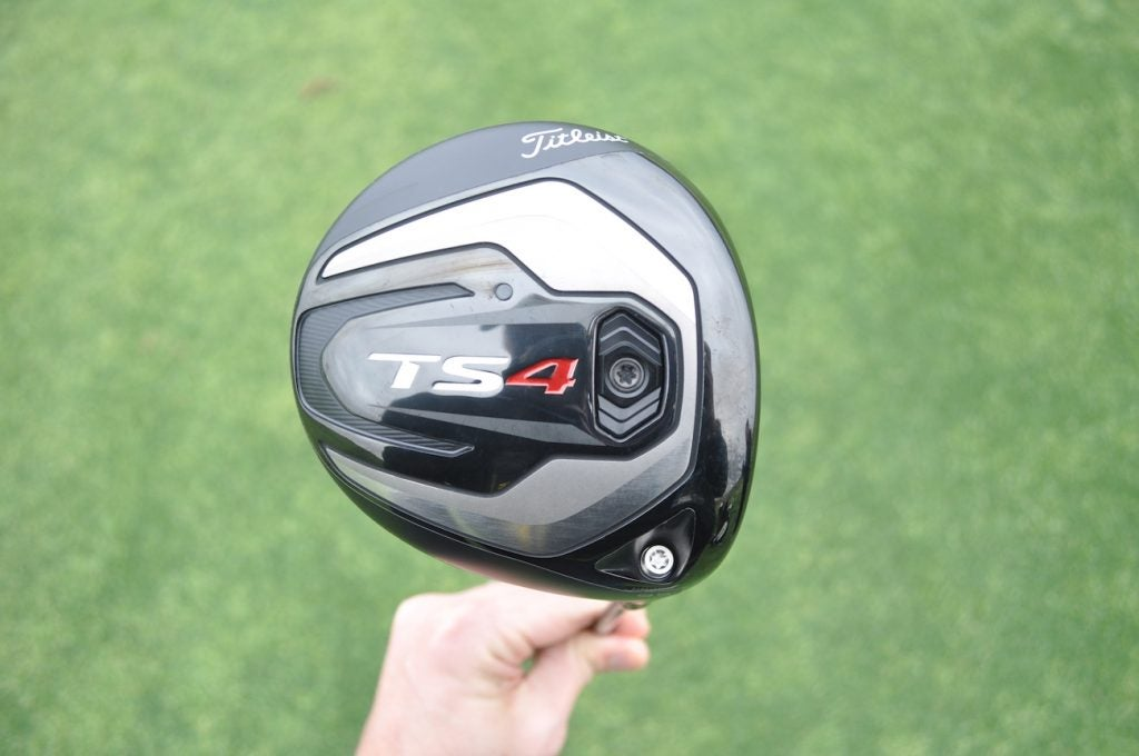 Jimmy Walker was the first player to test Titleist's 430cc TS4 driver on Monday.