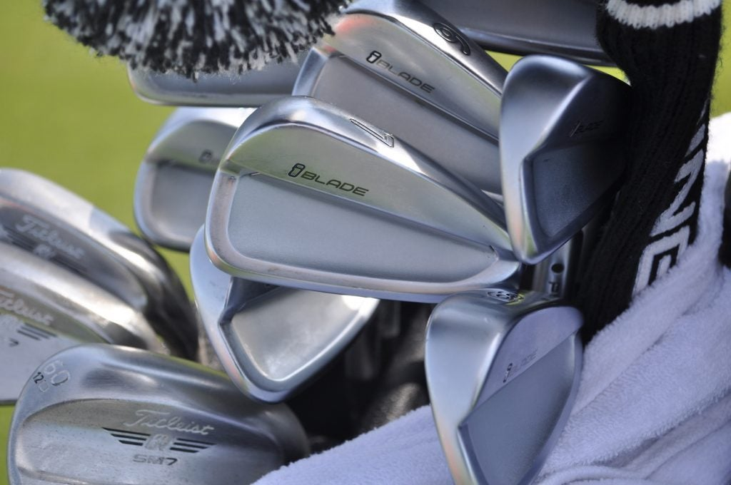 Defending champion Andrew Landry used a set of Ping iBlade irons during last year's win in San Antonio.