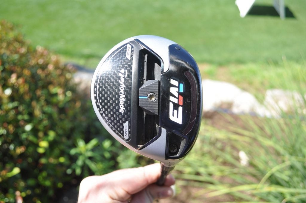 Tiger Woods' TaylorMade M3 5-wood.