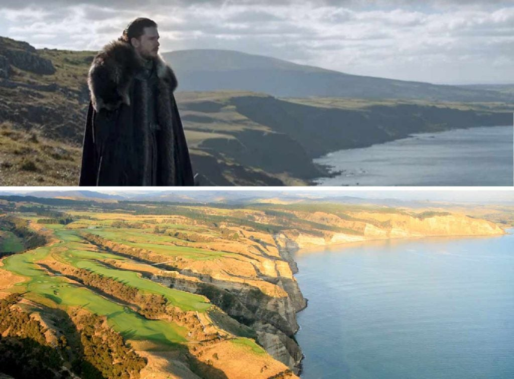 Jon Snow first met dragons on the site of a prospective new fantastic golf course.