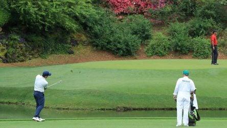Rory McIlroy Francesco Molinari Tiger Woods