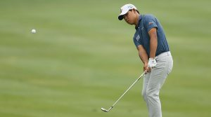 Si Woo Kim is the driver's seat heading into the final round of the Valero Texas Open.