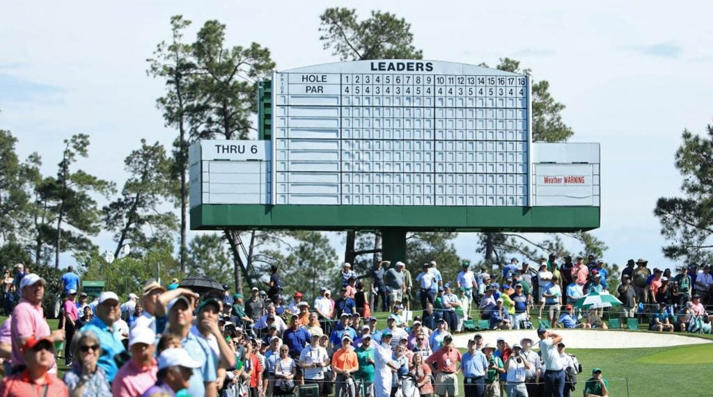 Weather for Thursday's first round of the Masters at Augusta National is expected to be good.