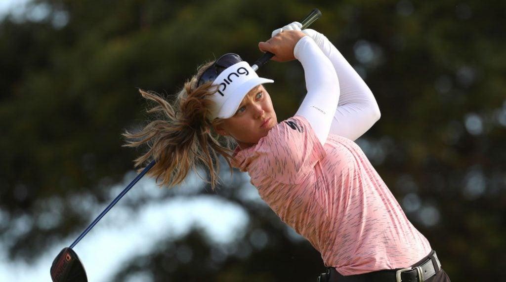 Brooke Henderson now has eight LPGA victories on her resume.