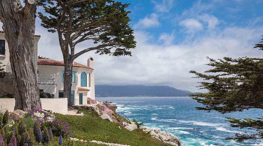 Golf course home for sale Pebble Beach