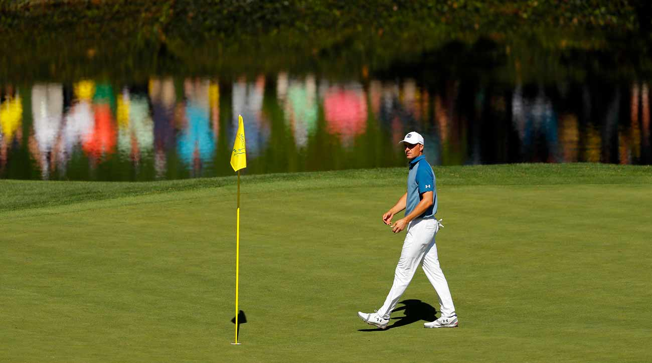 180ad9ecfb Masters 2019: Jordan Spieth says pin-in putting causes 'eyesore' at Masters