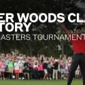 Picture of Tiger Woods winning the 2019 Masters