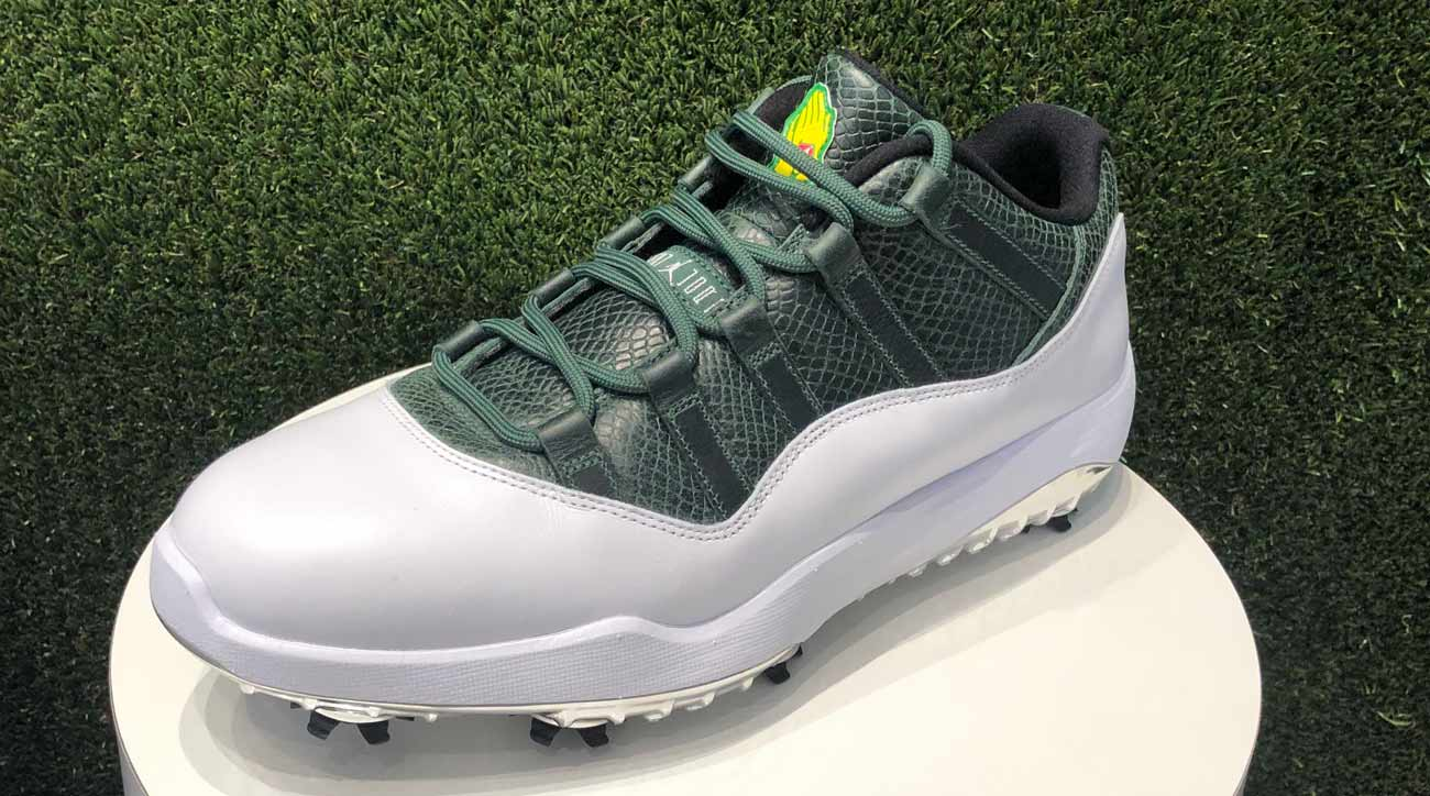 ffeefb5e807072 New Jordan XI golf shoe pays homage to Augusta National and Masters