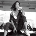 Michelle Wie at a GOLF Magazine photoshoot.