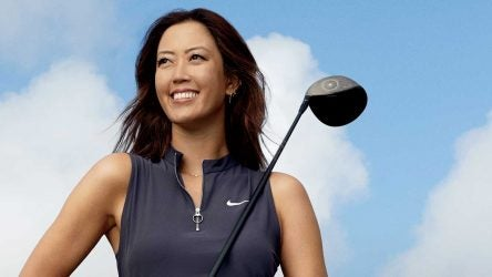 Michelle Wie at a GOLF photoshoot.
