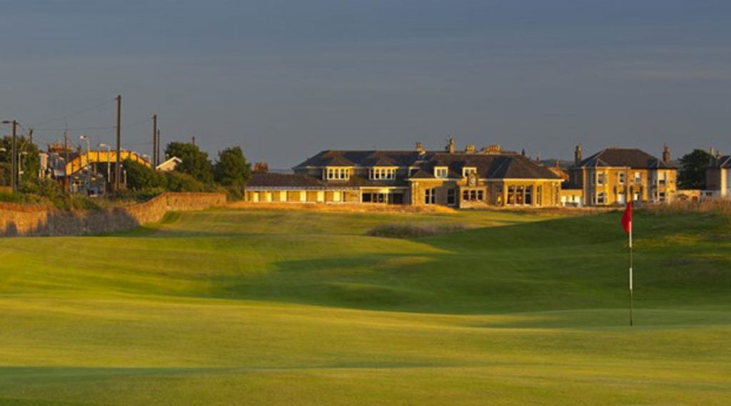 The opening tee shot at Old Prestwick is one of golf's most iconic.