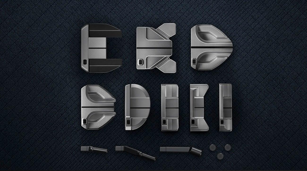 PXG's Gen2 putter line consists of eight unique head shapes.