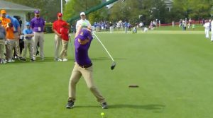 Nine-year-old Michael Quallich's swing has created quite a buzz at the Drive, Chip & Putt Finals.