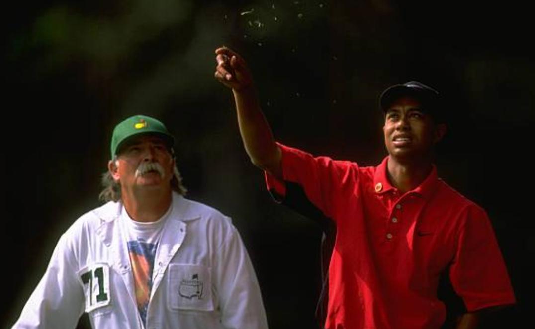 Why Tiger Woods Caddie Joe Lacava Is Rocking A Saquon Barkley Jersey