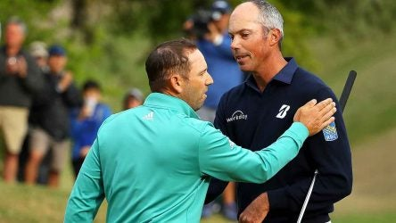 Sergio Garcia, Matt Kuchar, 2019 Match Play